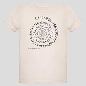 Spiral Pi Organic Kids T-Shirt
