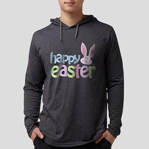 happyeaster Mens Hooded Shirt