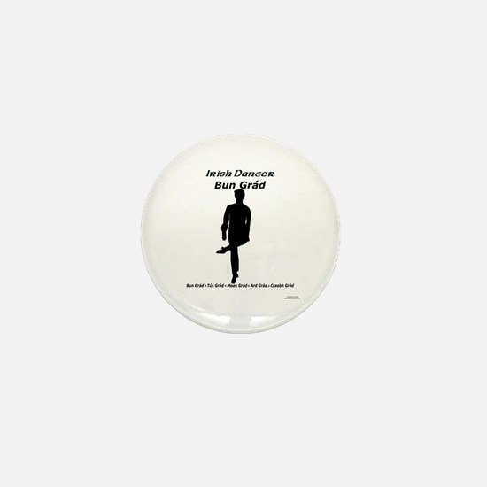 Boy Bun Grád - Mini Button