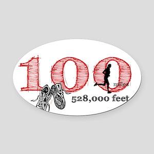 100rf Oval Car Magnet