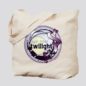 Twilight New Moon Grunge Ribbon Crest Tote Bag