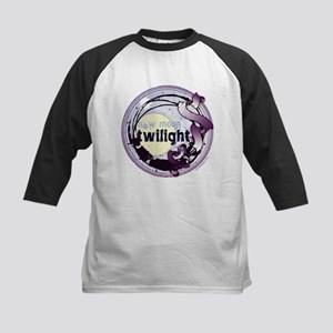 Twilight New Moon Grunge Ribbon Crest Kids Basebal