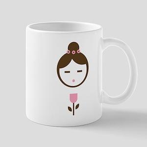 Girl Pink Tulip Mug