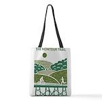 Green Scenic Trail Design Polyester Tote Bag