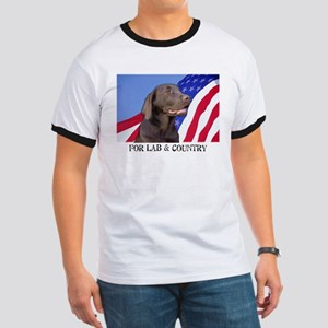 For Lab & Country Ringer T