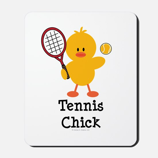 Tennis Chick Mousepad