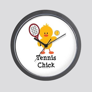 Tennis Chick Wall Clock