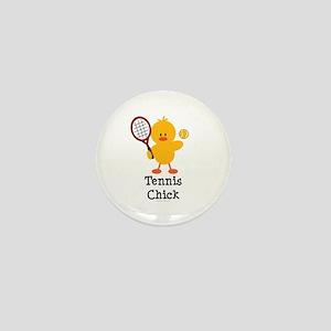 Tennis Chick Mini Button