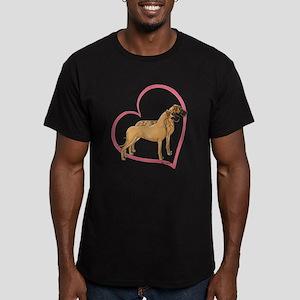 NBrNF Stand Heartline Men's Fitted T-Shirt (dark)