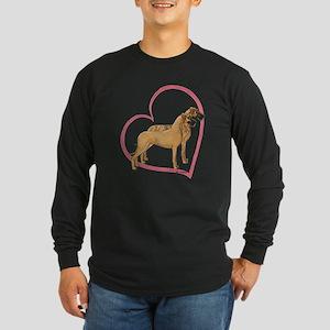 NBrNF Stand Heartline Long Sleeve Dark T-Shirt