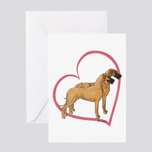 NBrNF Stand Heartline Greeting Card