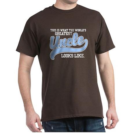 World's Greatest Uncle Dark T-Shirt