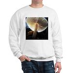 Mushroom Gills Backlit Sweatshirt