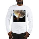Mushroom Gills Backlit Long Sleeve T-Shirt