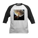 Mushroom Gills Backlit Kids Baseball Jersey