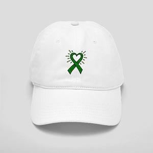 Donor Heart Ribbon Cap