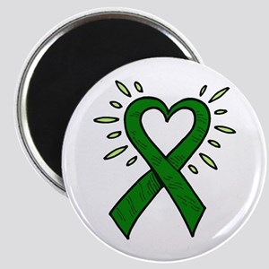 Donor Heart Ribbon Magnet