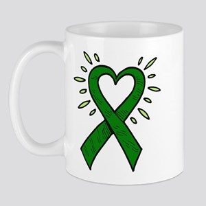 Donor Heart Ribbon Mug