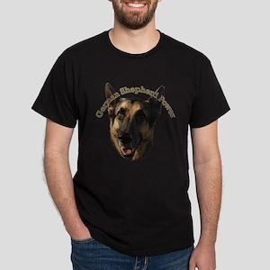 German Shepherd Power Dark T-Shirt