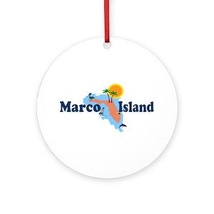 Marco Island Florida Map.Naples Florida Souvenirs Ornaments Cafepress