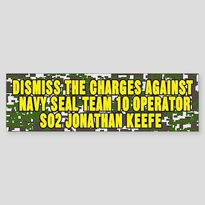 Dismiss Navy Seals Bumper Sticker