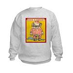 Behind EDDIE ELEPHANT Kids Sweatshirt