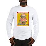 Behind EDDIE ELEPHANT Long Sleeve T-Shirt