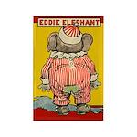 Behind EDDIE ELEPHANT Rectangle Magnet