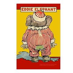 Behind EDDIE ELEPHANT Postcards (Package of 8)