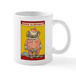 Behind EDDIE ELEPHANT Mug