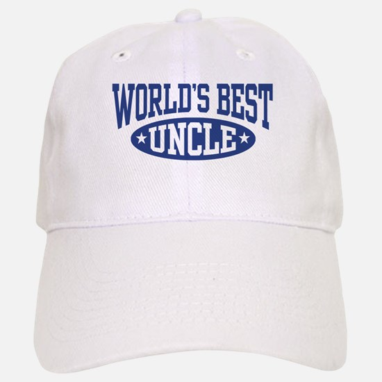 World's Best Uncle Baseball Baseball Cap