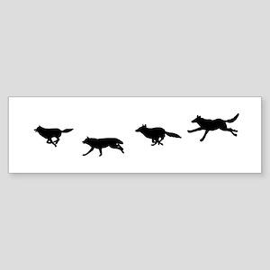 Running Wild Bumper Sticker