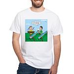 Rain Gutter Boat Race Men's Classic T-Shirts