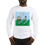 Rain Gutter Boat Race Long Sleeve T-Shirt
