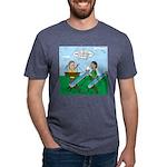 Rain Gutter Boat Race Mens Tri-blend T-Shirt