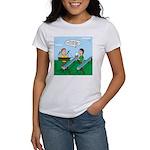 Rain Gutter Boat Race Women's Classic T-Shirt