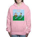 Rain Gutter Boat Race Women's Hooded Sweatshirt