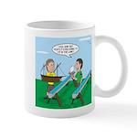 Rain Gutter Boat Race 11 oz Ceramic Mug
