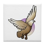 Animal Art Eagle Tile Coaster