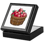 Nature Art Apple Basket Keepsake Box