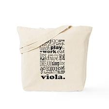 The Viola Life Tote Bag