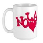 NOLA_love Mugs