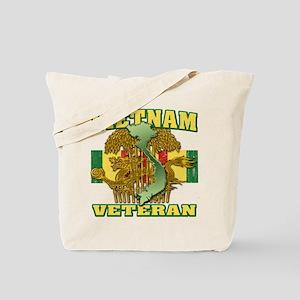 Vietnam Veteran Tote Bag