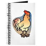 Animal Art Rooster Journal