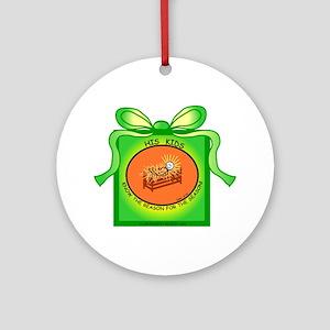 Baby Jesus! Ornament (Round)