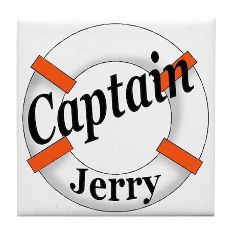 CAPTAIN JERRY Tile Coaster