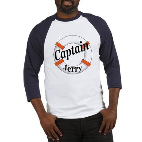 CAPTAIN JERRY Baseball Jersey