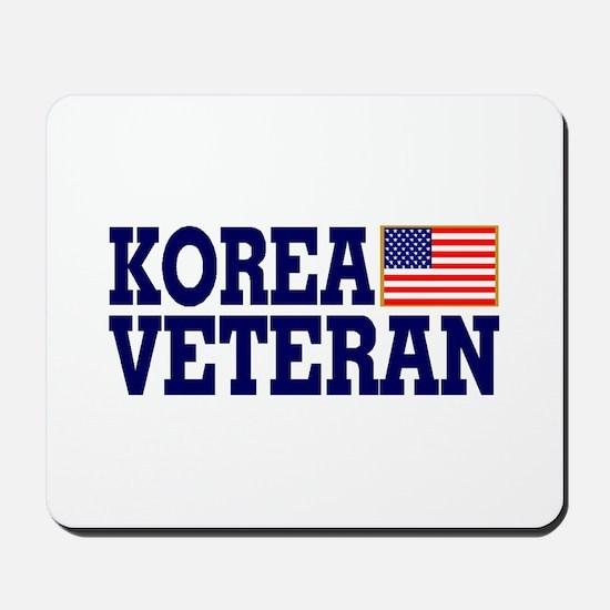KOREA VETERAN Mousepad
