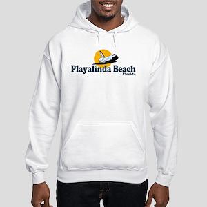 Playalinda Beach FL Hooded Sweatshirt