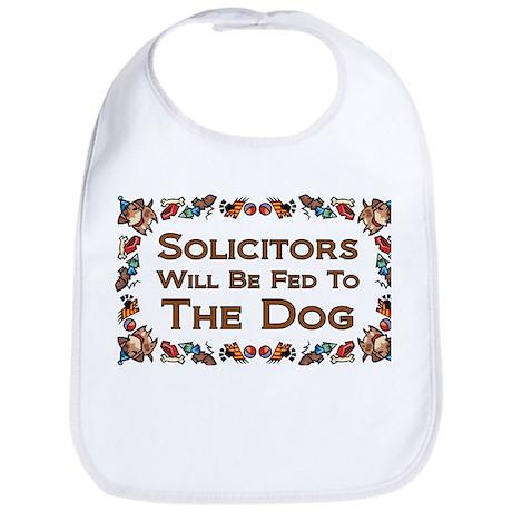 Solicitors Fed to Dog Bib